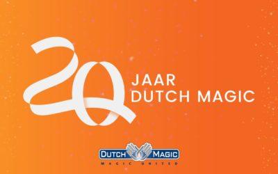 Dutch Magic bestaat 20 jaar!