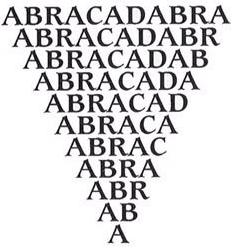 toverspreuk abracadabra
