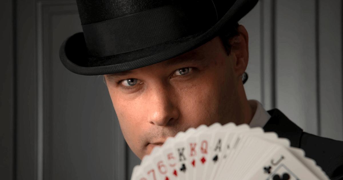 Gambling Magic goochelaar
