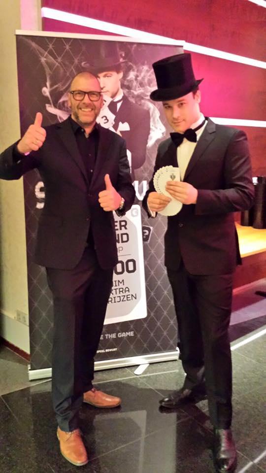 Goochelaar Jordi en Michel van Eijk