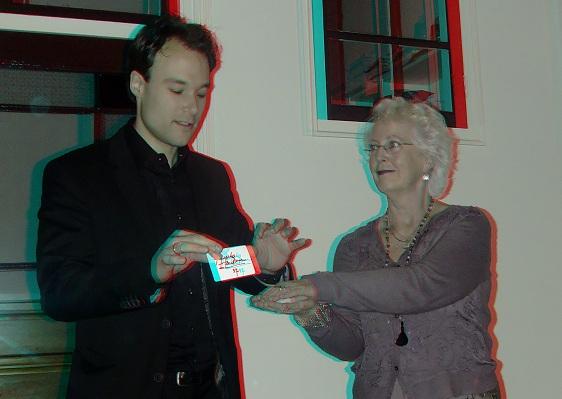 Goochelaar Jordi in 3D