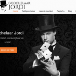Goochelaar Website