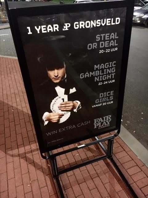 Goochelaar Jordi in casino Gronsveld