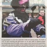 goochelpiet in de krant