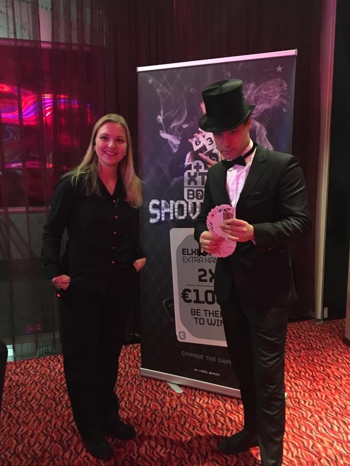 magie in het casino Groningen