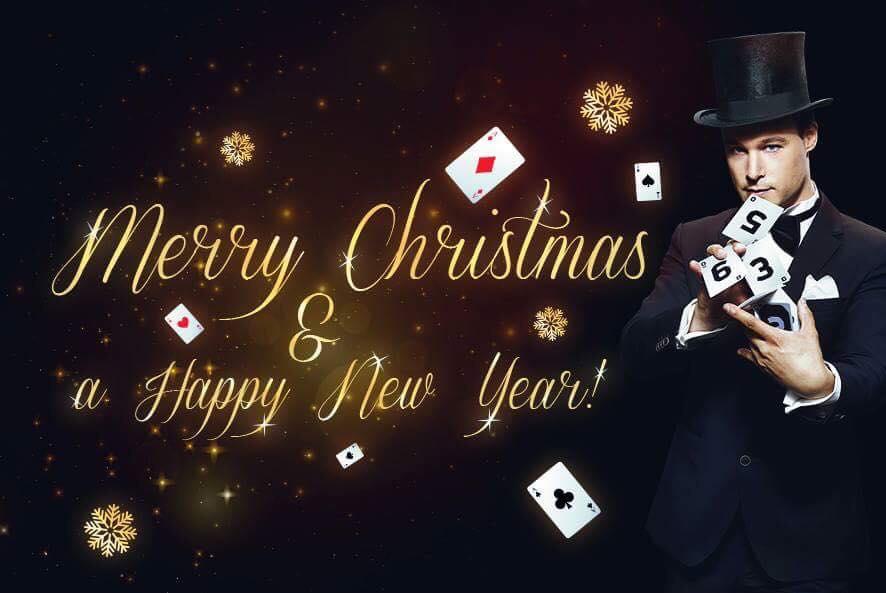 goochelaar nieuwjaarsfeest