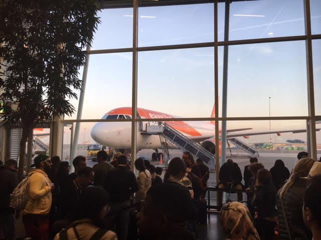 vliegtuig op Schiphol