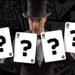 vraagtekens hoe werken goocheltrucs