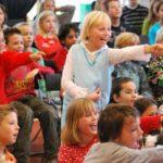 kindergoochelen op een basisschool