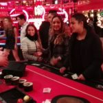 goochelaar in het casino
