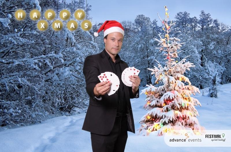 goochelaar kerst