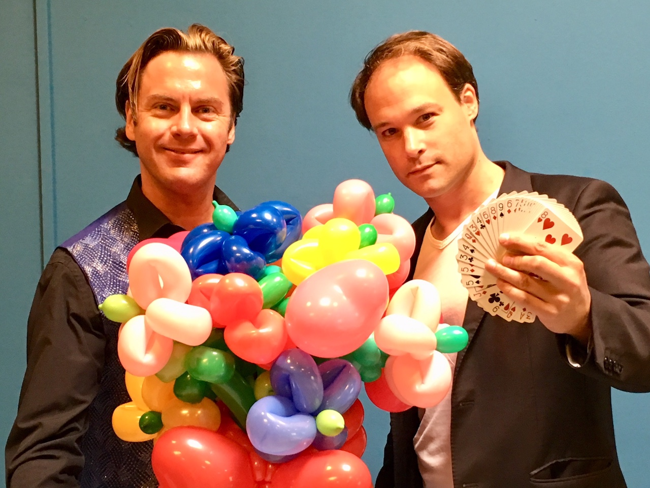 goochelaars Jordi en Martijn
