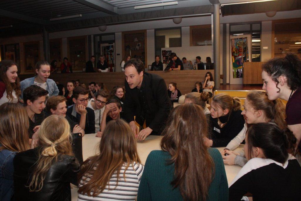 goochelen op school Groevenbeek in Ermelo