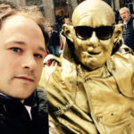 goochelaar Jordi en straat artiest in Amsterdam