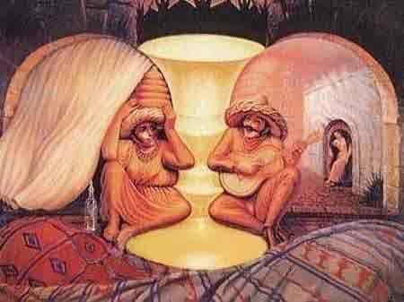 jong en oud illusie