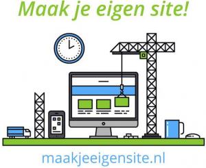 maak je eigen website