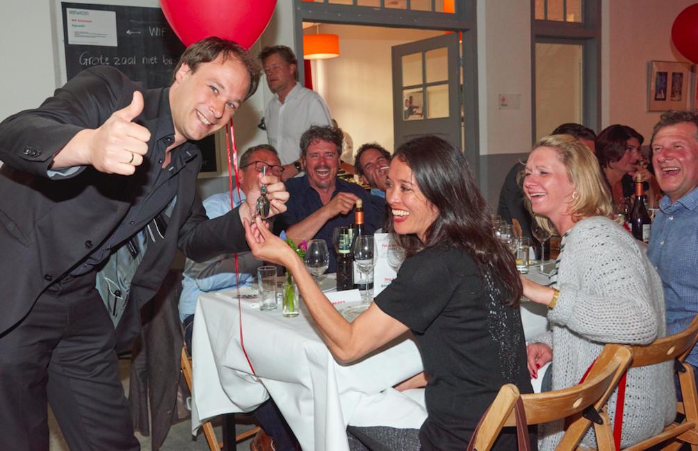 optreden benefiet dinner Haarlem