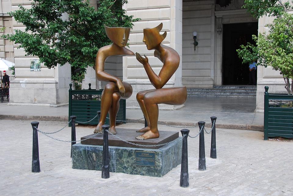 standbeeld truc